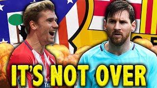 Will Atletico Madrid SHOCK Barcelona In La Liga Title Race?!   Euro Round-Up