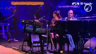 STEVIE WONDER & AISHA MORRIS   GAROTA DE IPANEMA & VOCÊ ABUSOU ROCK IN RIO 2011 30  09