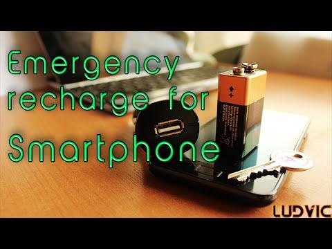 Truco para la batería del móvil: cómo montar una «recarga de emergencia