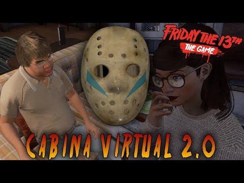 PRIMERA VISITA A LA CABINA VIRTUAL 2.0!! - FRIDAY THE 13th THE GAME