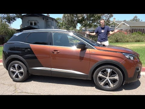 The Peugeot 3008 Is the Weird Crossover You Can't Have