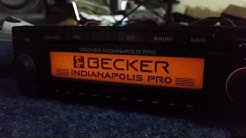 BECKER INDIANAPOLIS PRO. BE7950 RADIO CODE FREE. SERIAL NUMBER.
