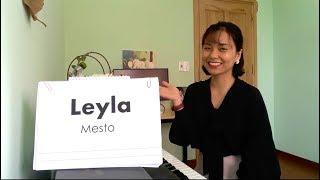 LEYLA - MESTO Học Tiếng Anh Qua Bài Hát| Thảo Kiara