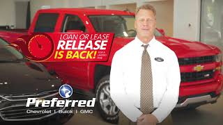 Loan or Lease Release (A) | Preferred Chevrolet Buick GMC