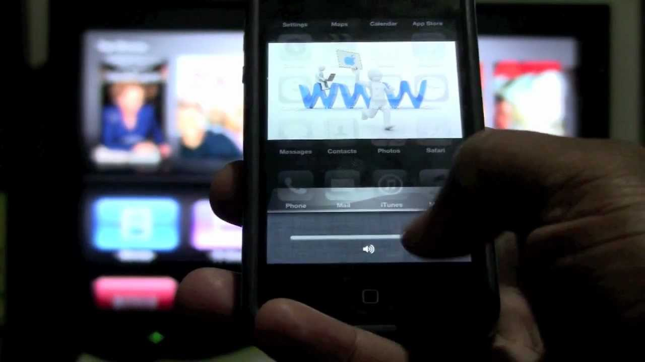 How to Mirror iPhone 4s to Apple TV | H2TechVideos