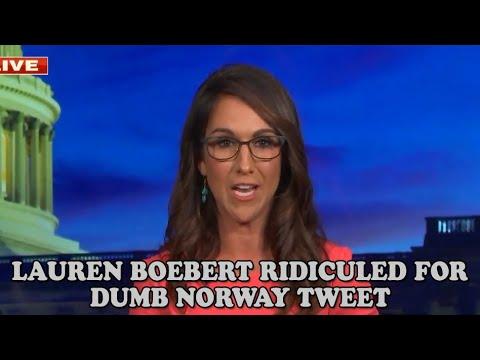 Download Lauren Boebert RIDICULED For Dumb Norway Tweet
