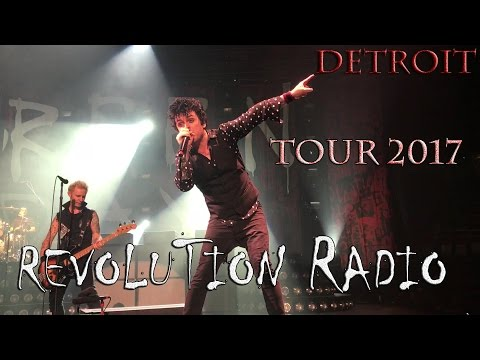 Green Day - Detroit - Revolution Radio Tour 2017