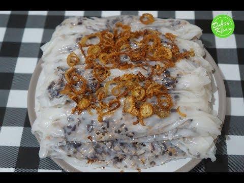 vietnamese-steamed-rice-roll-recipe---cách-làm-bánh-cuốn-tráng-chảo-cấp-tốc