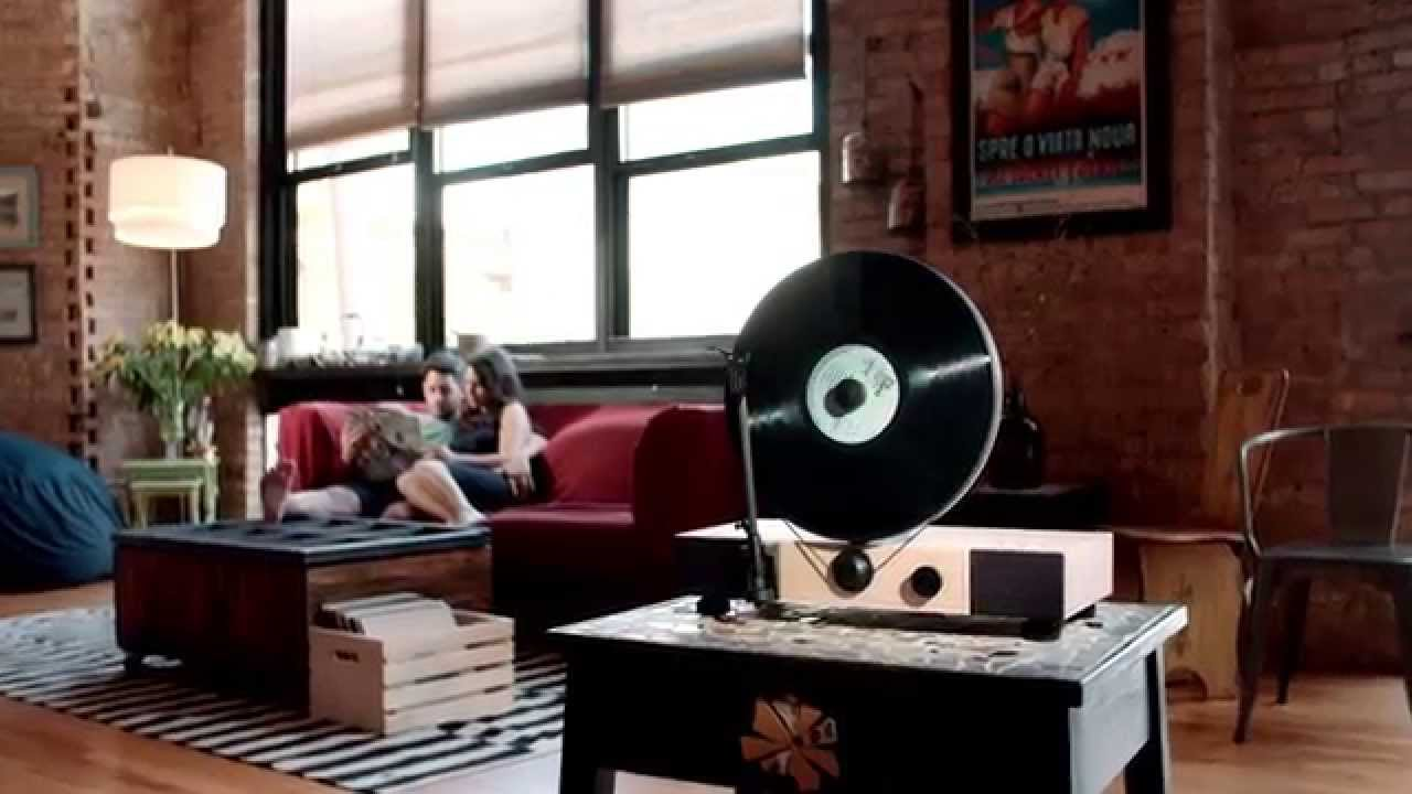 Gramovox Floating Record Youtube