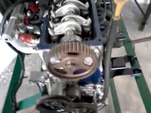 MPFI system cut model petrol engine