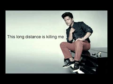 Long Distance- Bruno Mars (Karaoke/Instrumental)