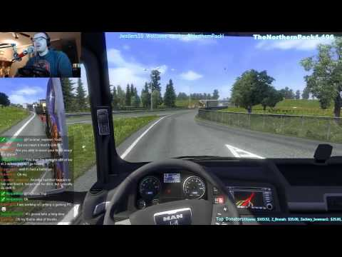 ETS 2 Multiplayer ETS2MP TS3 English Channel 10| TheNorthern