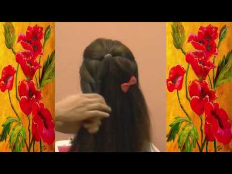 How To Make Easy Hairstyles For Long Hair | Cool Hair Designs For Long Hair Tutorial 2017
