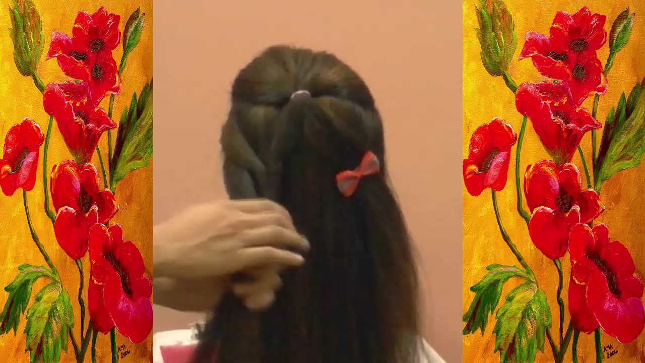 How To Make Easy Hairstyles For Long Hair | Cool Hair Designs For ...