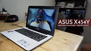 asus x454y amd a8 notebook budget anak kostan reviewbray