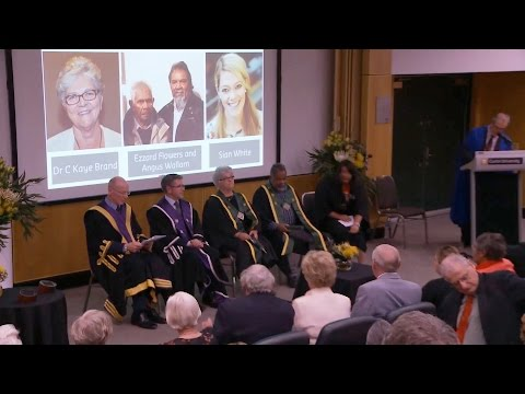 Four inspiring recipients awarded: John Curtin Medal 2015