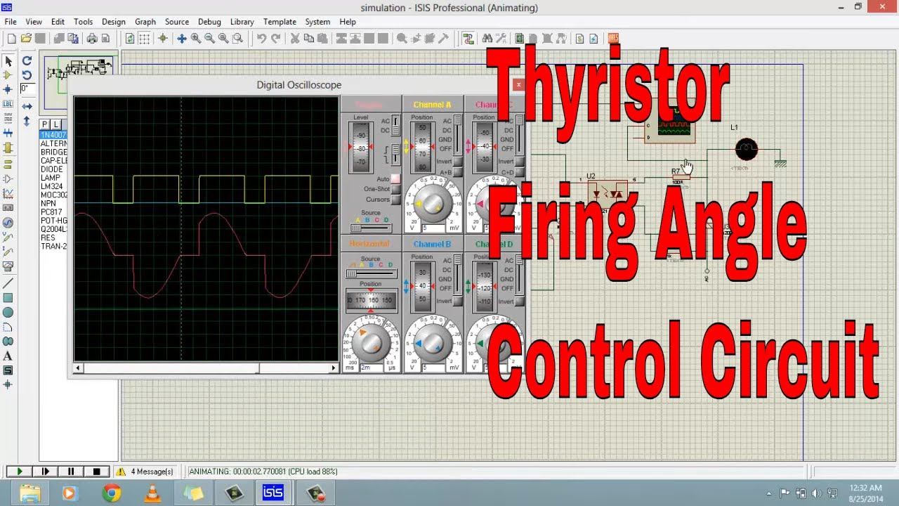 Thyristor Firing Angle Control Circuit Youtube Led Driver 6 Channels With Phase Shift
