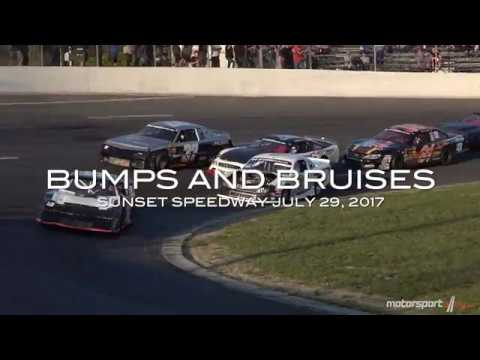 Racings Bumps and Bruises Sunset Speedway July 29 2017