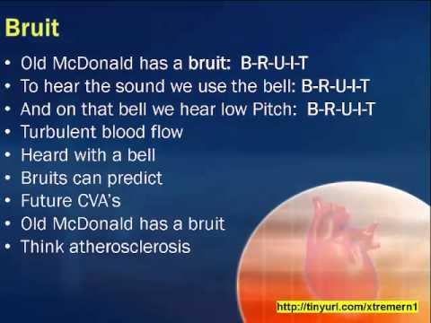 Old McDonald has Lub Dub, Bruits, Thrills and Heaves
