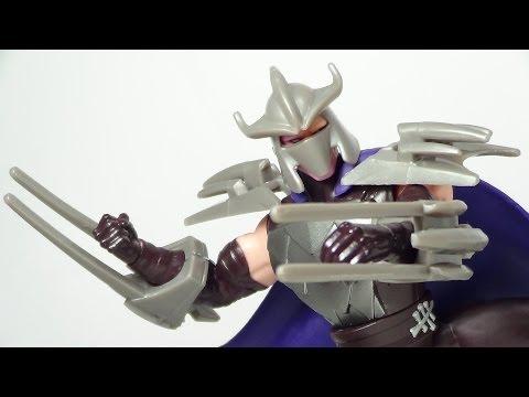TMNT Shredder 2013 Version 2 Figure Review
