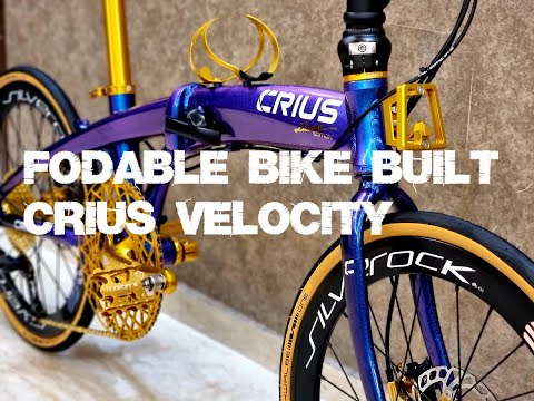 Foldies Singapore: Foldable Bicycle Built (CRIUS VELOCITY or others) thumbnail