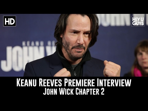 Keanu Reeves Premiere Interview - John Wick Chapter 2