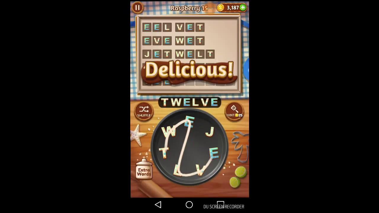 Word Cookies Raspberry 11 20 Youtube