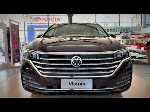 2020 Volkswagen Viloran 7Seater FirstLook&Walkaround—China Auto Show—2020款大众Viloran,外观与内饰实拍