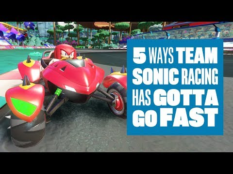 Team Sonic Racing review - a smart spin on the character kartformula