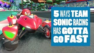 5 Ways Team Sonic Racing Has Gotta Go Fast - Team Sonic Racing gameplay