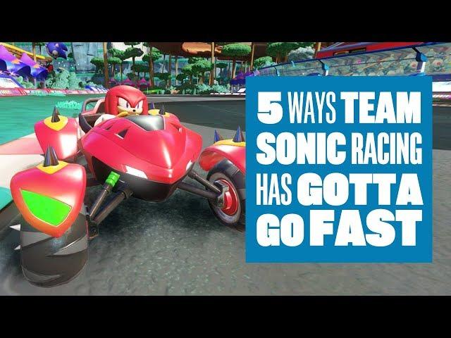 Team Sonic Racing (видео)