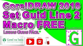 Video de mega pack macros free coreldraw 2018 by grafisin
