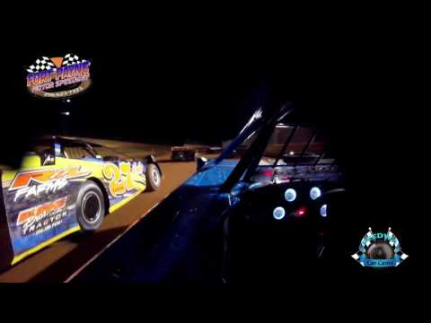 #21 Shay Miller - Super Late Model - 7-28-17 Fort Payne Motor Speedway - In Car Camera