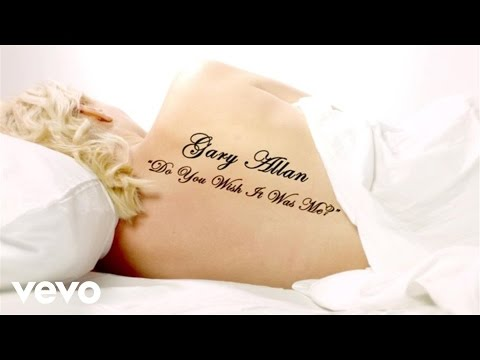 Gary Allan - Do You Wish It Was Me? (Lyric Video)