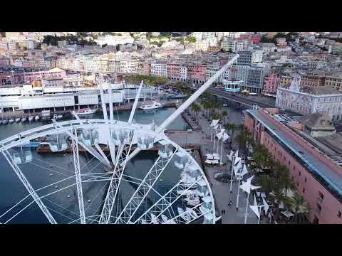 The most insane view of the Port of Genoa