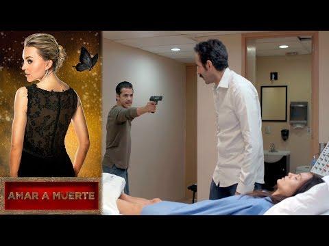 Beltrán salva a Lupita | Amar a muerte - Televisa