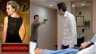Beltrán salva a Lupita   Amar a muerte - Televisa