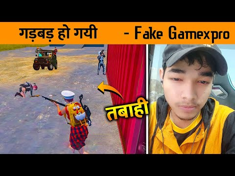 """😣Fake GameXpro in Our MAtch - PUBG Mobile Full insane Hindi Gameplay """"No Chicken"""" from YouTube · Duration:  14 minutes 15 seconds"""