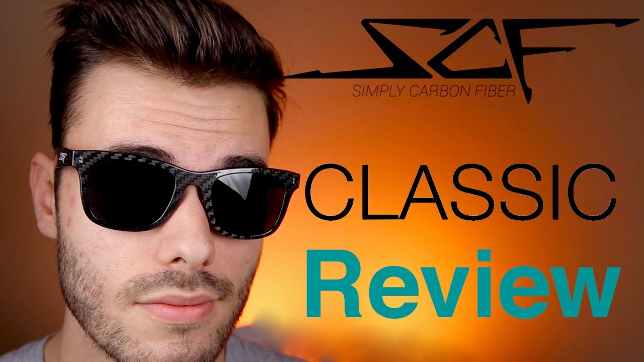 09bac45b94 Simply Carbon Fiber Classic Sunglasses Review - YouTube