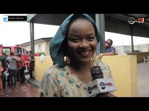 Watch Kehinde Bankole As She Married Samuel Oniyitan On Set Of Ase.