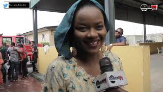 Watch Kehinde Bankole as she married Samuel Oniyitan on set of Ase