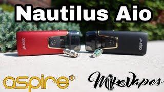 Aspire Nautilus AIO Pod Style Vape - Uses Nautilus Coils!! - Mike Vapes