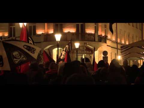 Balkan Anarchist Bookfair 2013 - Protest action - Ljubljana/Slovenia 25th May