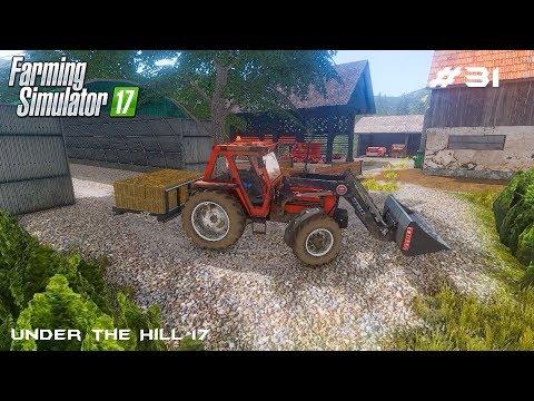 Feeding animals | Under the Hill 17 | Farming Simulator 2017 | Episode 31