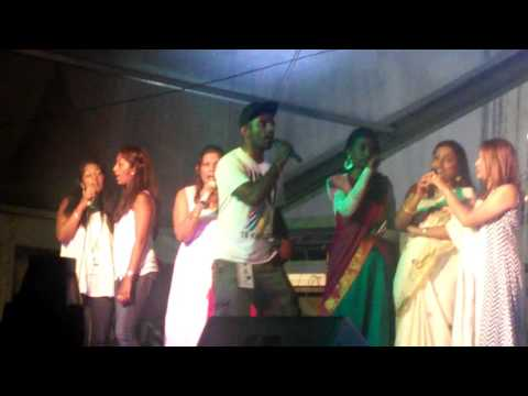 Mauritian tamil singers singing semmozhi