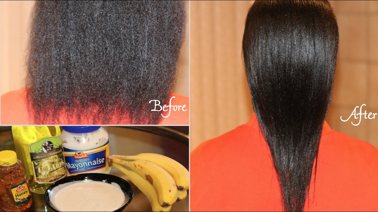 Diy Easy Deep Conditioning For Natural Hair Youtube