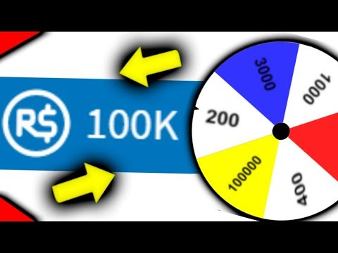 the robux wheel... (roblox)
