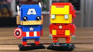 LEGO BrickHeadz - КАПИТАН АМЕРИКА И ЖЕЛЕЗНЫЙ ЧЕЛОВЕК (41492)
