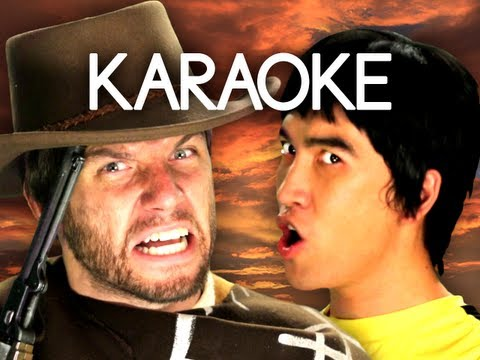 [KARAOKE ♫] Bruce Lee vs Clint Eastwood. Epic Rap Battles of History. [INSTRUMENTAL]