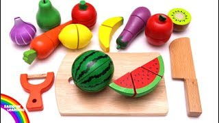 Learn Fruit and Vegetables for Kids with Mrs Rainbow